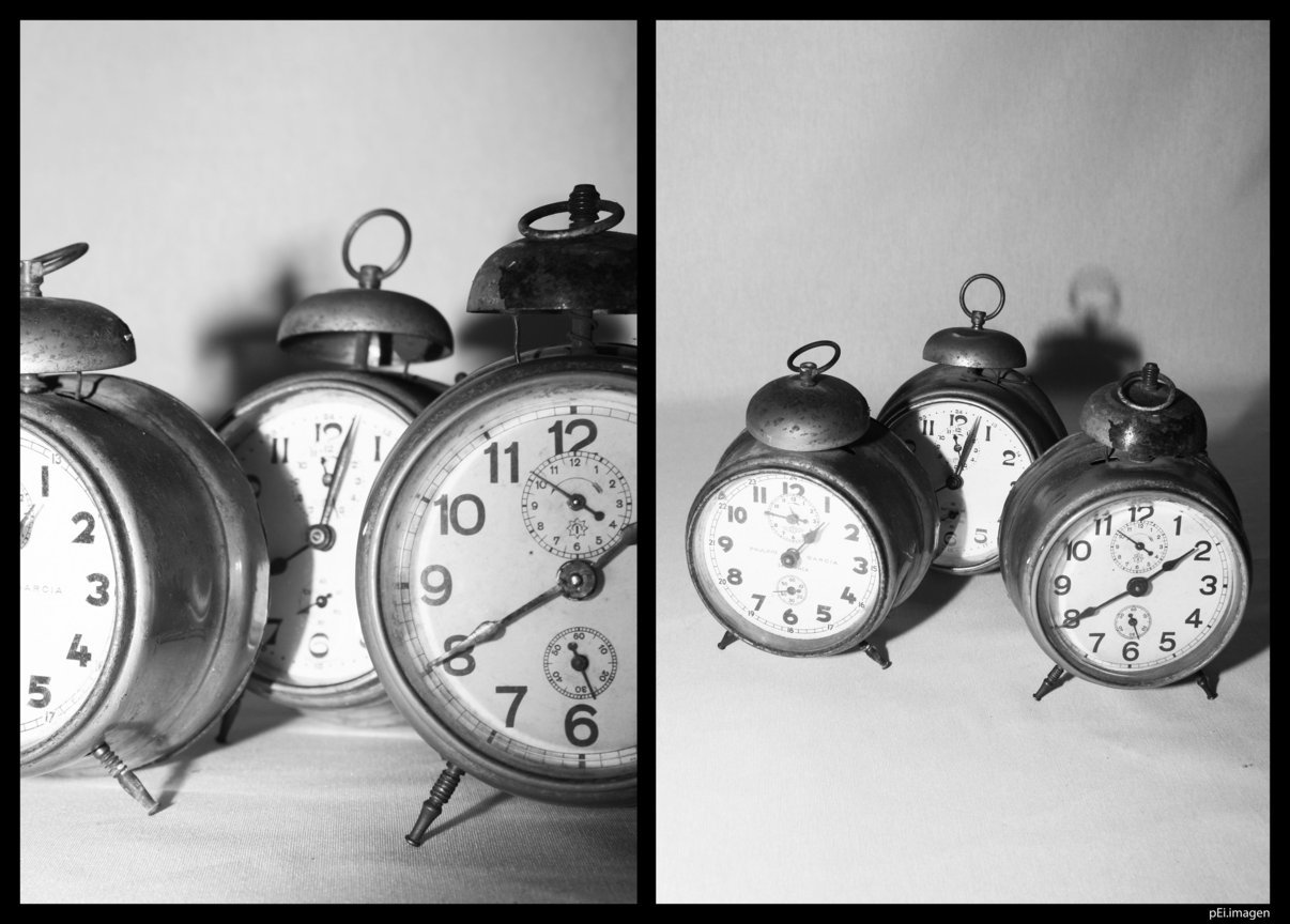 # 01 Aunque paremos los relojes, el tiempo sigue pasando.