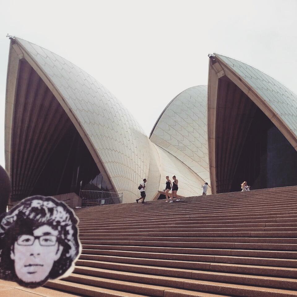 Peipegata sticker slap stickerart  bombardeando Sídney-Australia