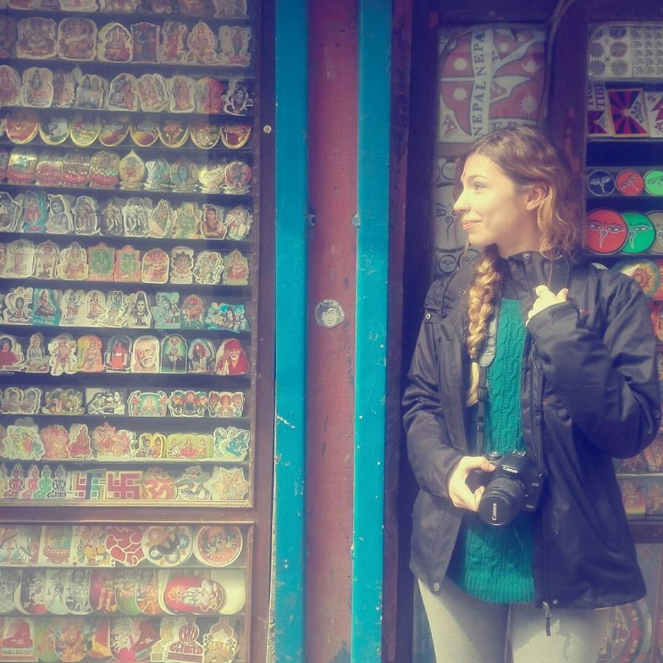 Peipegata sticker slap stickerart  bombardeando Katmandu - Nepal