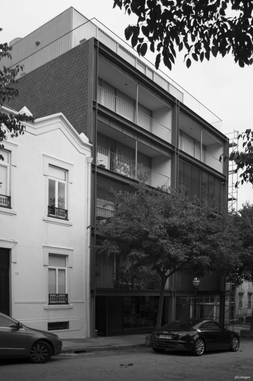 peipegata Arquitectura Architecture proyectos fotografia peipegatafotografia # 046 Eduardo Souto de Moura _ Bloco e Habitação na Rua do Teatro